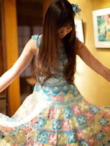 ニャンドゥティのドレス